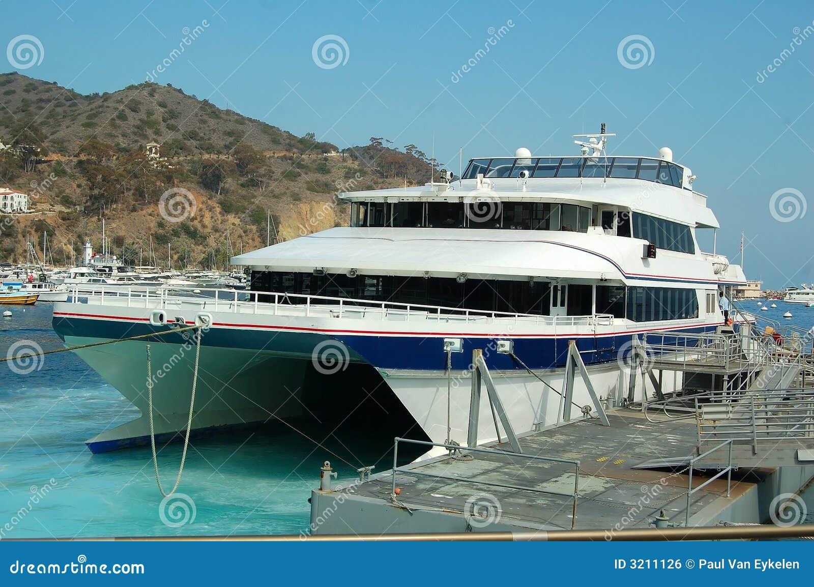 Balsa do catamarã