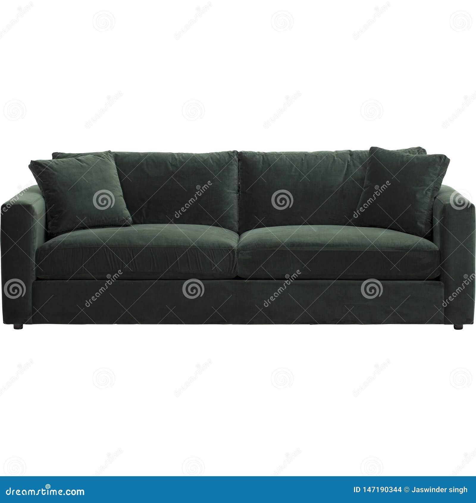 Balsam Green Velvet Sofa Warmingecom Slipcover Stretchable