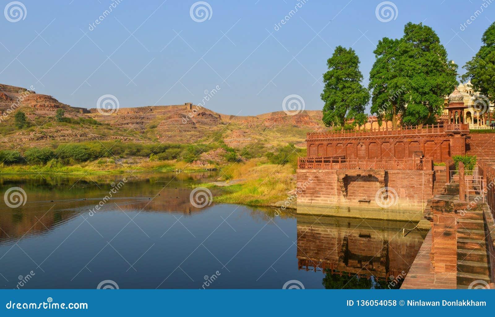 Balsamandmeer in Jodhpur, India