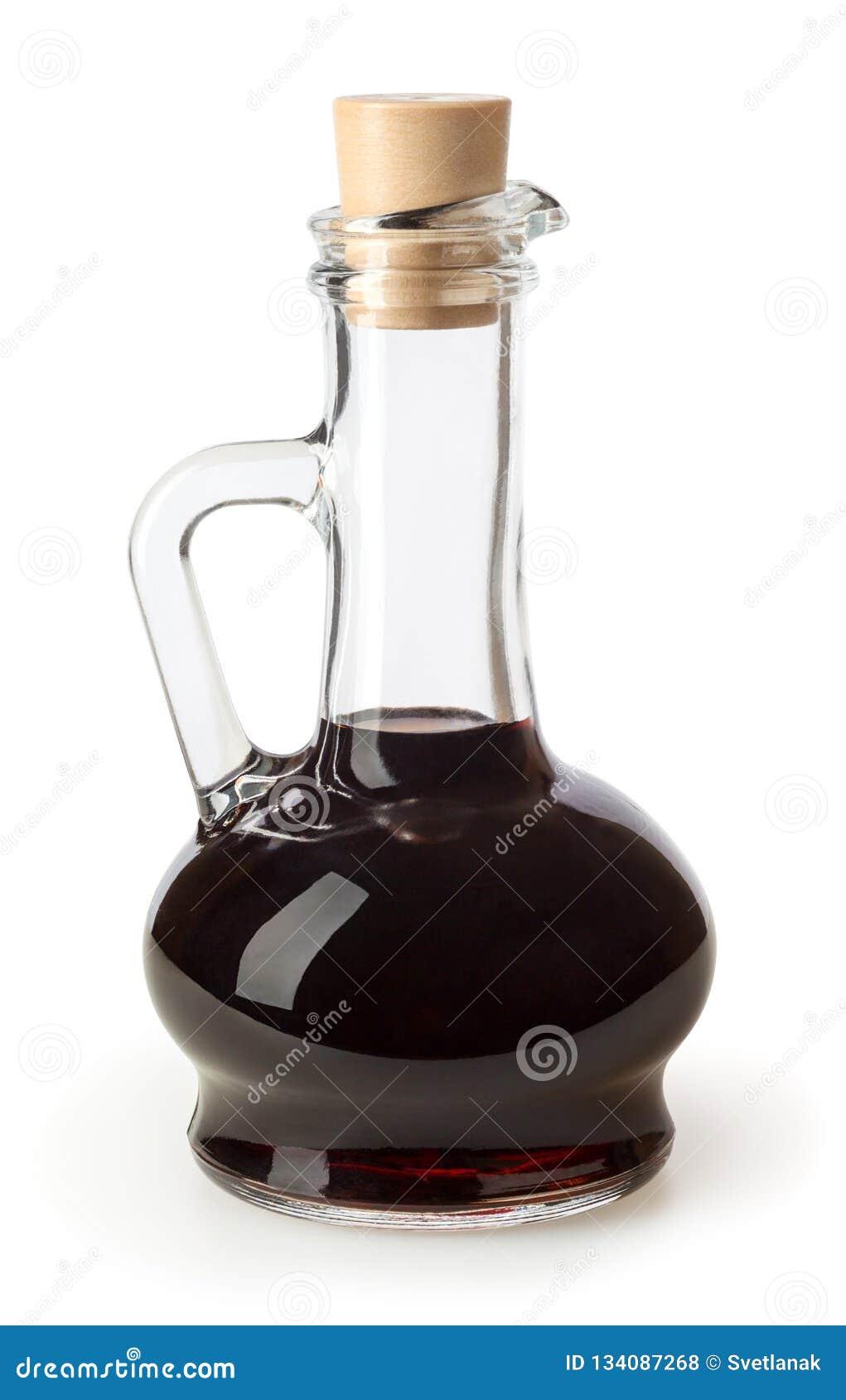 Balsamic vinäger som isoleras på vit