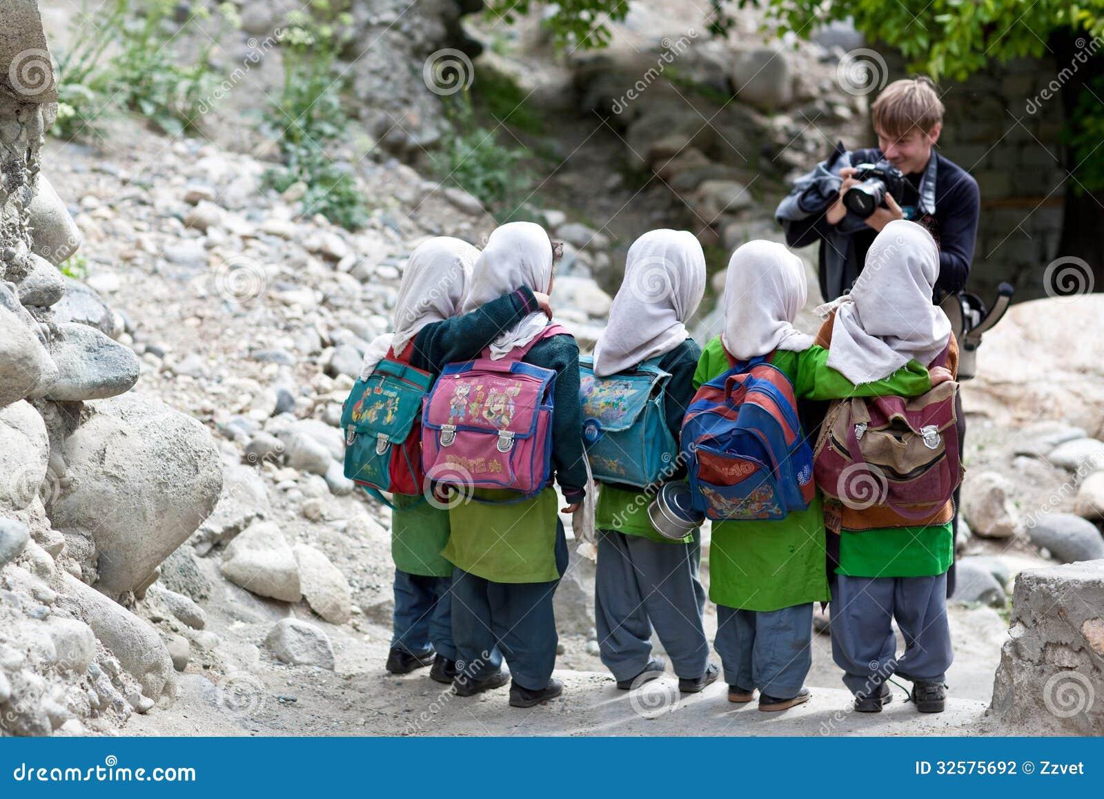 Balti Girls In Ladakh, India Editorial Photography - Image -6730