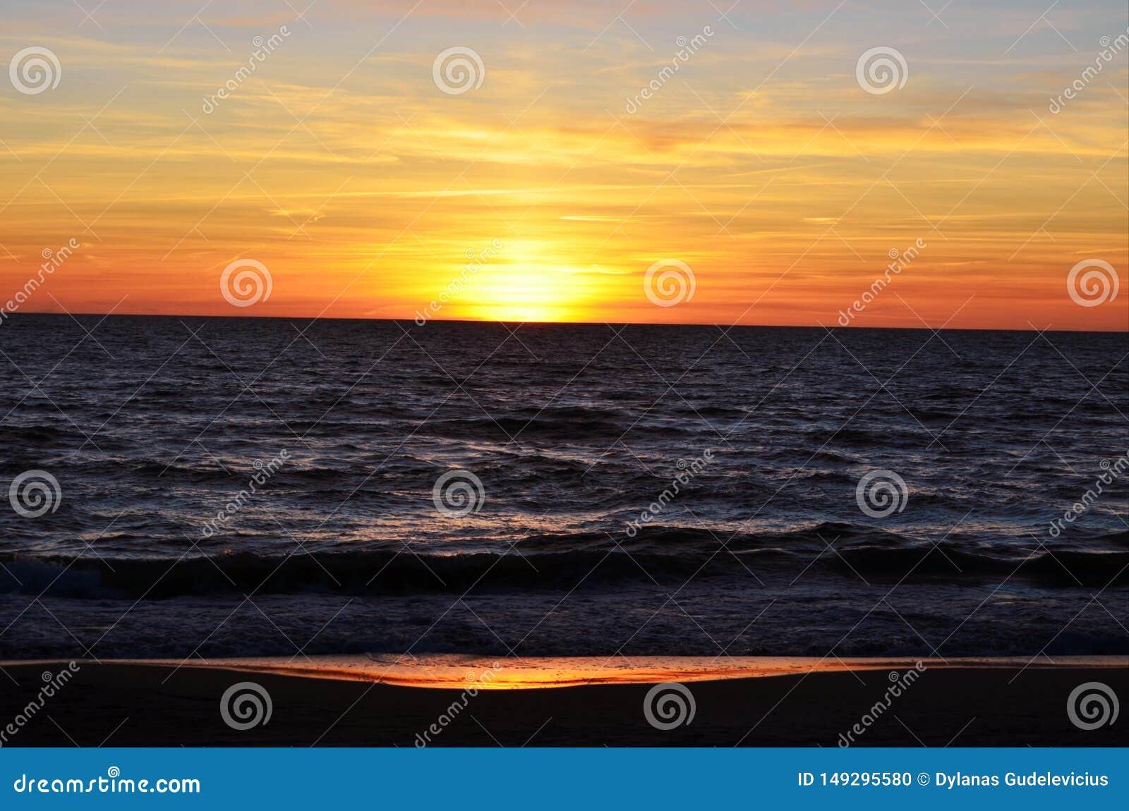 Baltic sea and sky nature