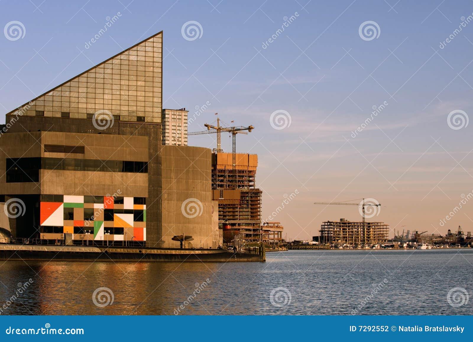 Baltimore Aquarium Stock Photo Image Of Baltimore Marina