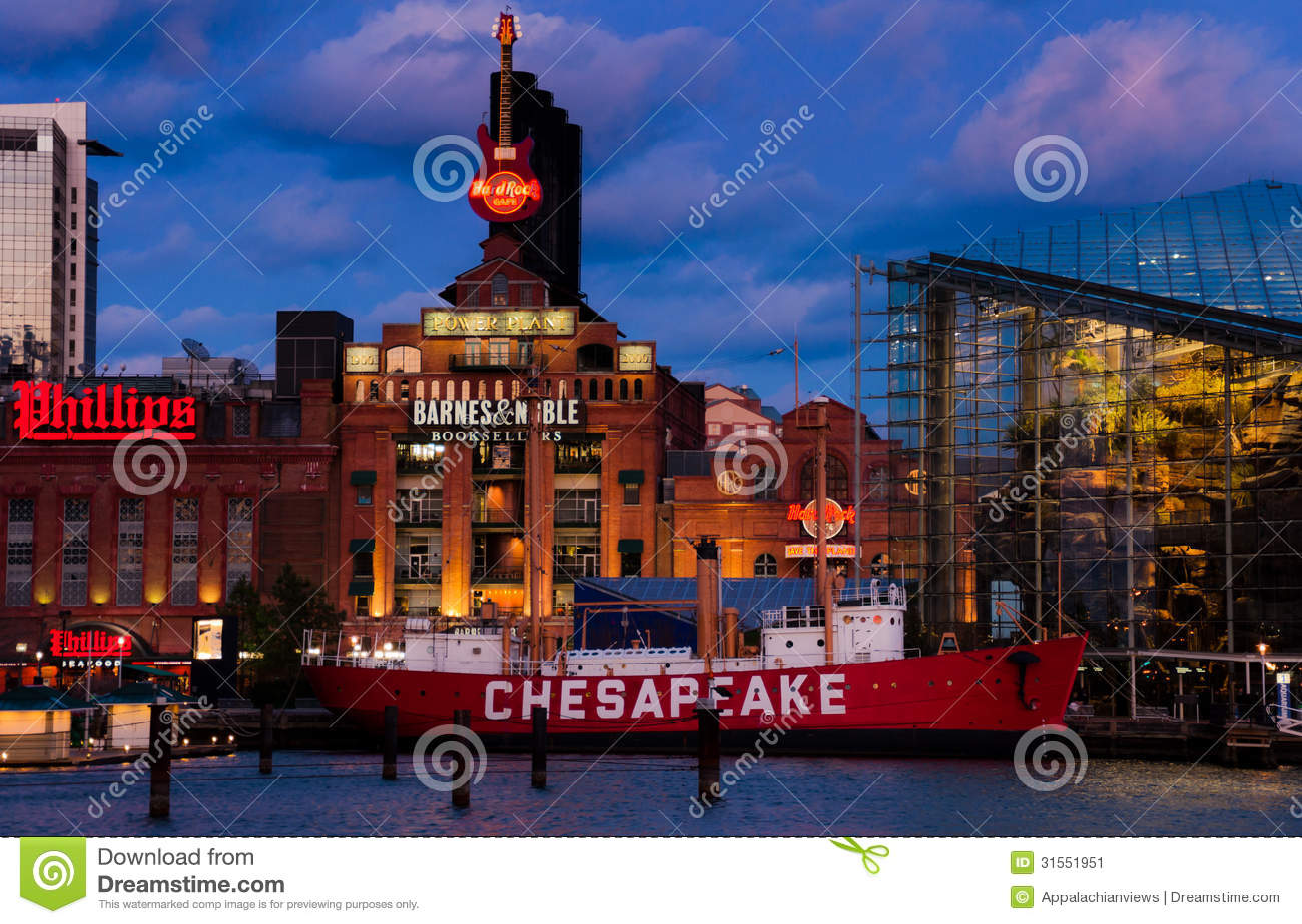 Fast Food Baltimore Inner Harbor