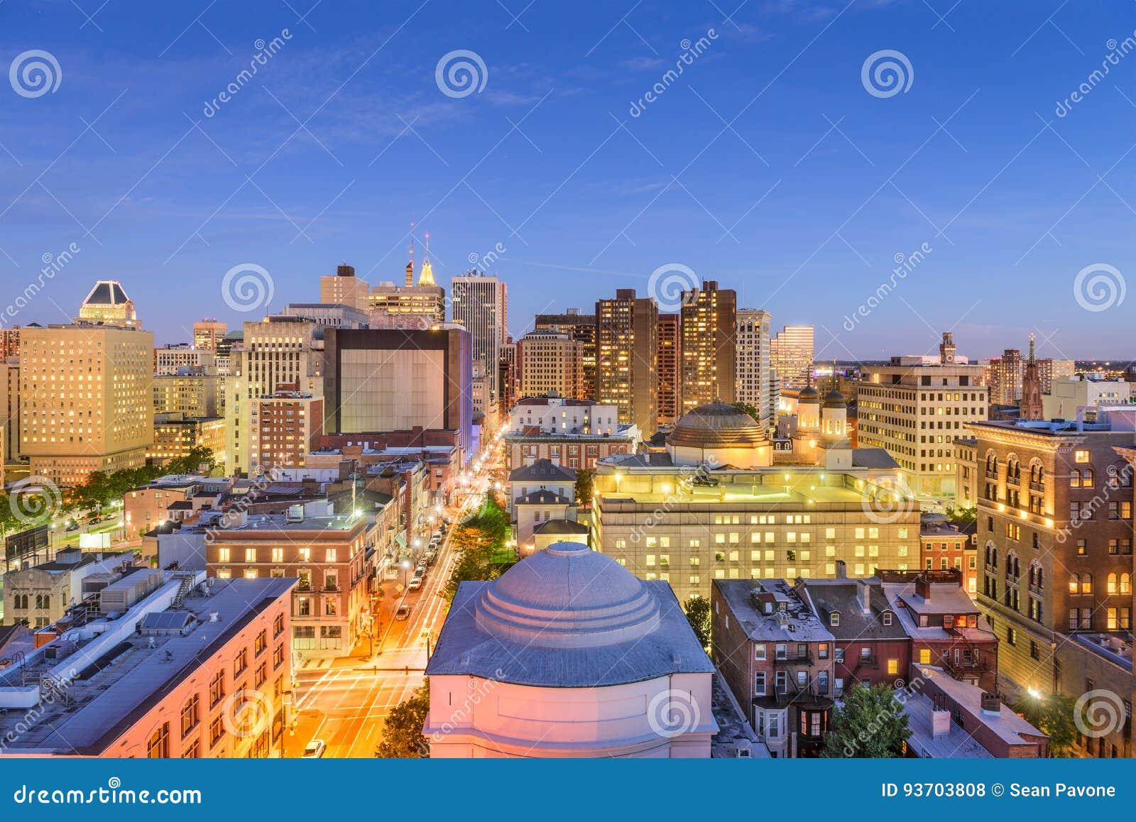 Baltimore, arquitetura da cidade de Maryland