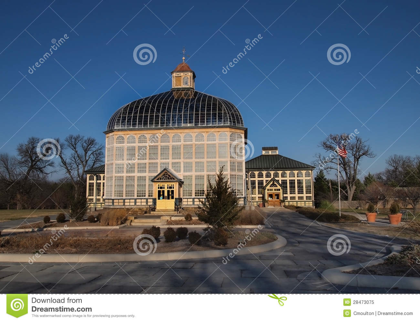 Baltimore Botanical Conservatory Royalty Free Stock Photo