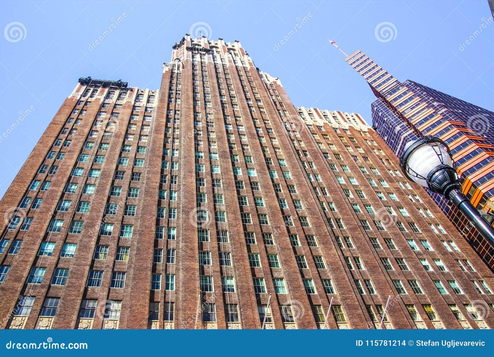 Baltimore downtown skyscraper building
