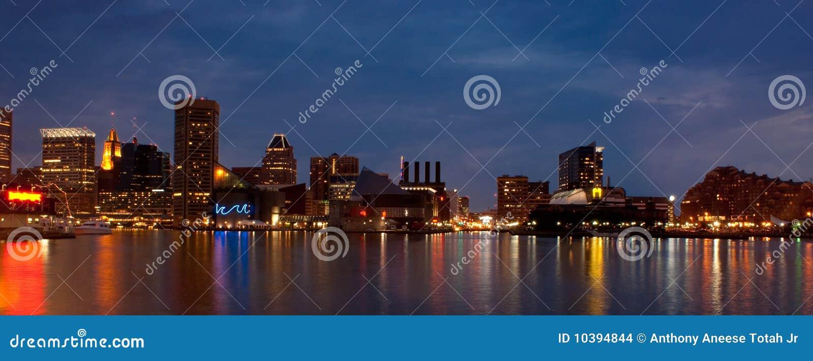 Baltimore Inner Harbor (panoramic)