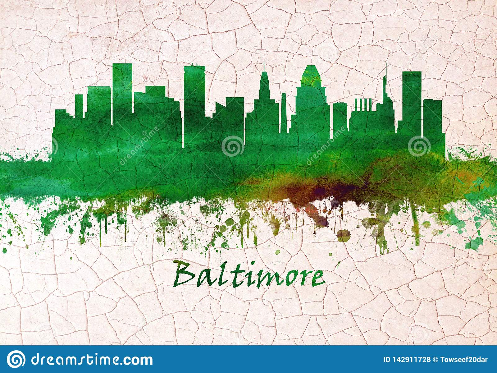 Baltimore Maryland linia horyzontu