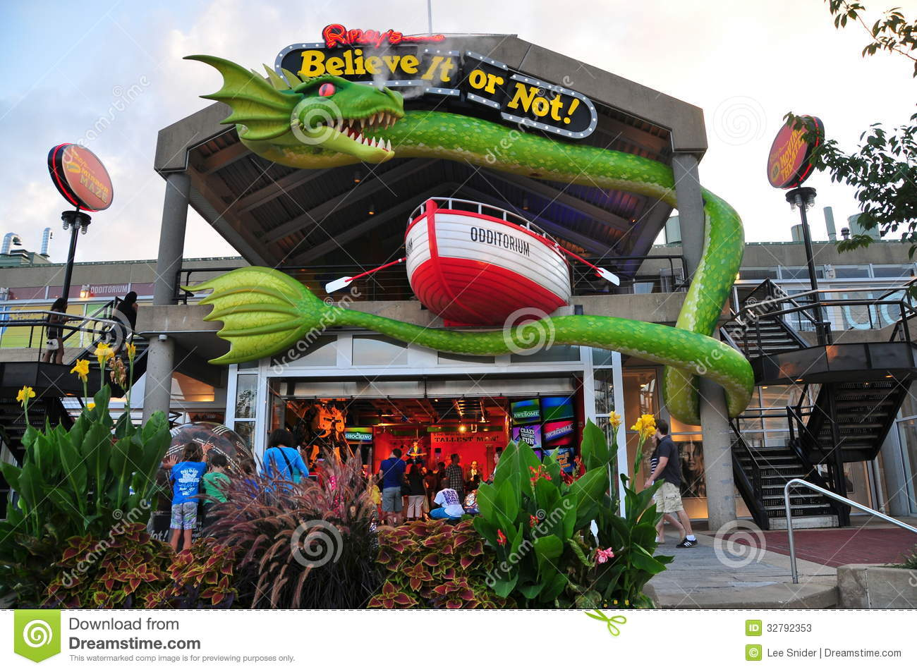 National Harbor Maryland >> Baltimore, MD: Ripley's Believe It Or Not Museum Editorial Stock Photo - Image: 32792353