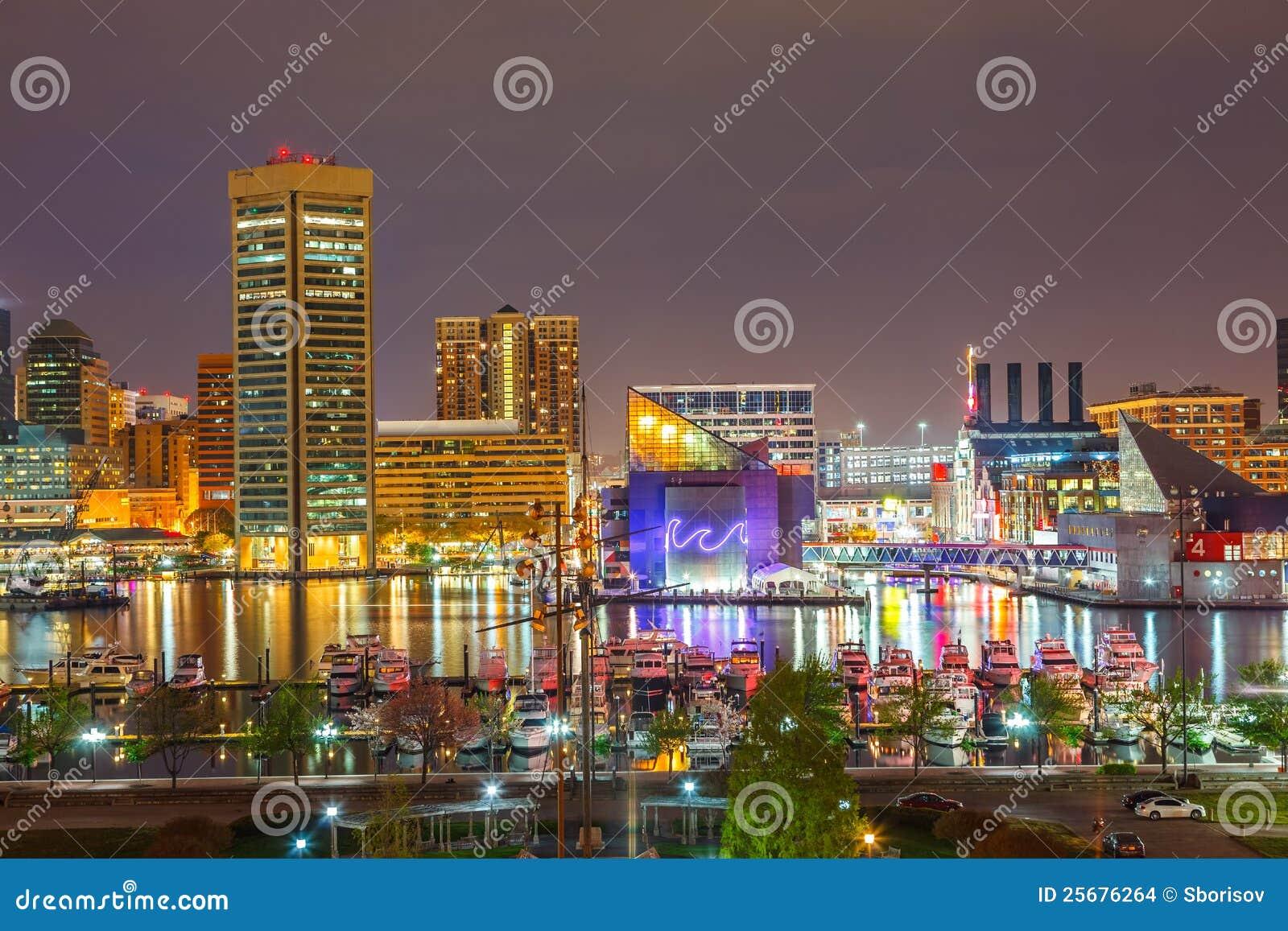 Baltimore na noite