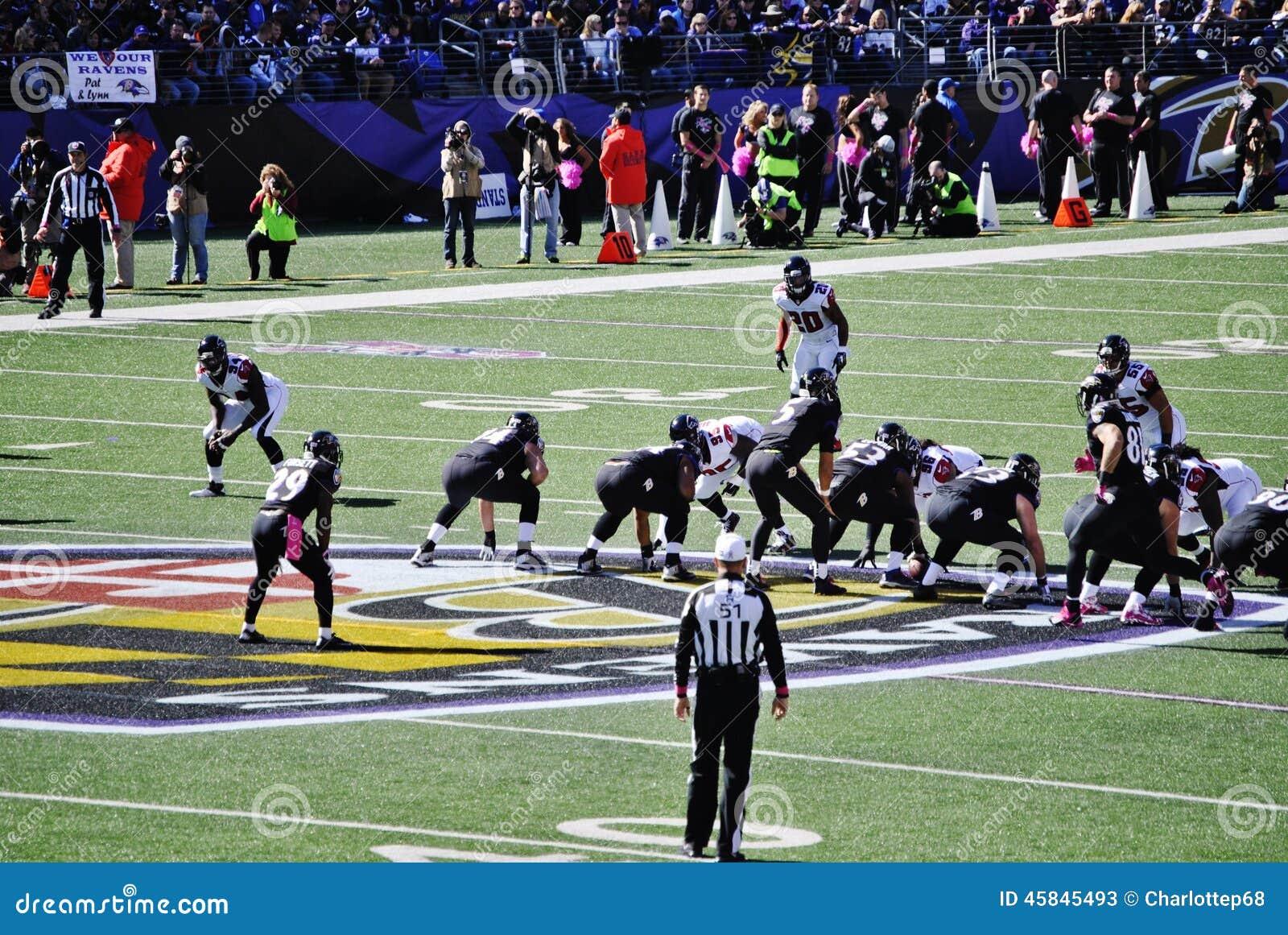 Baltimore Ravens Football Editorial Stock Photo Image Of Referee