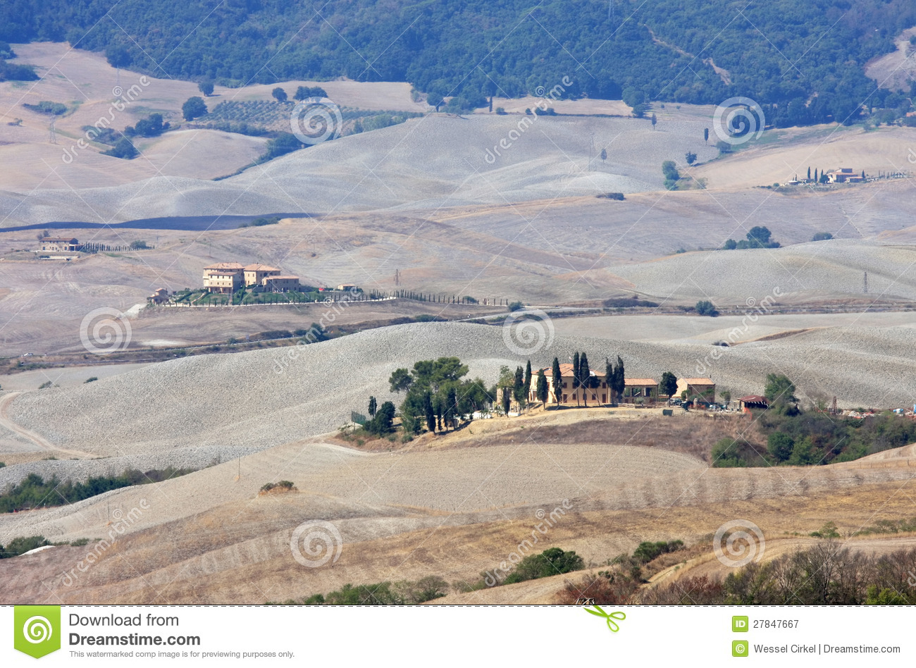 Balze landscape near volterra in tuscany italy stock for Nearby landscapers