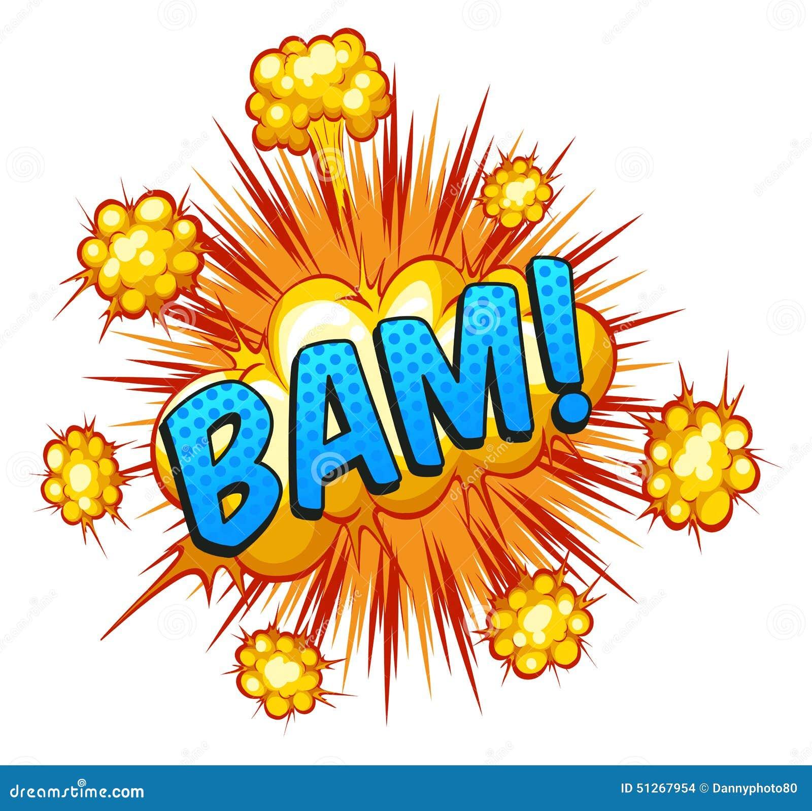 Bam Stock Illustrations – 1,119 Bam Stock Illustrations, Vectors ...