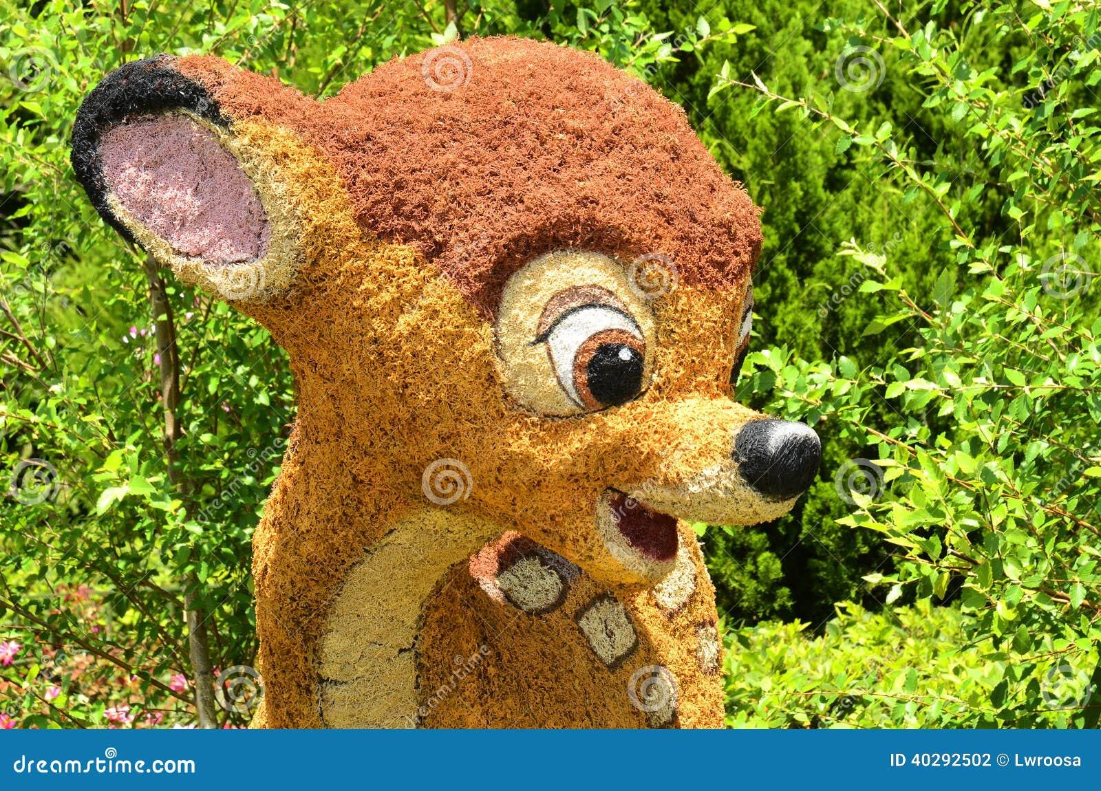 Disney Topiary Part - 20: Bambi Disney Festival Flower International Topiary ...