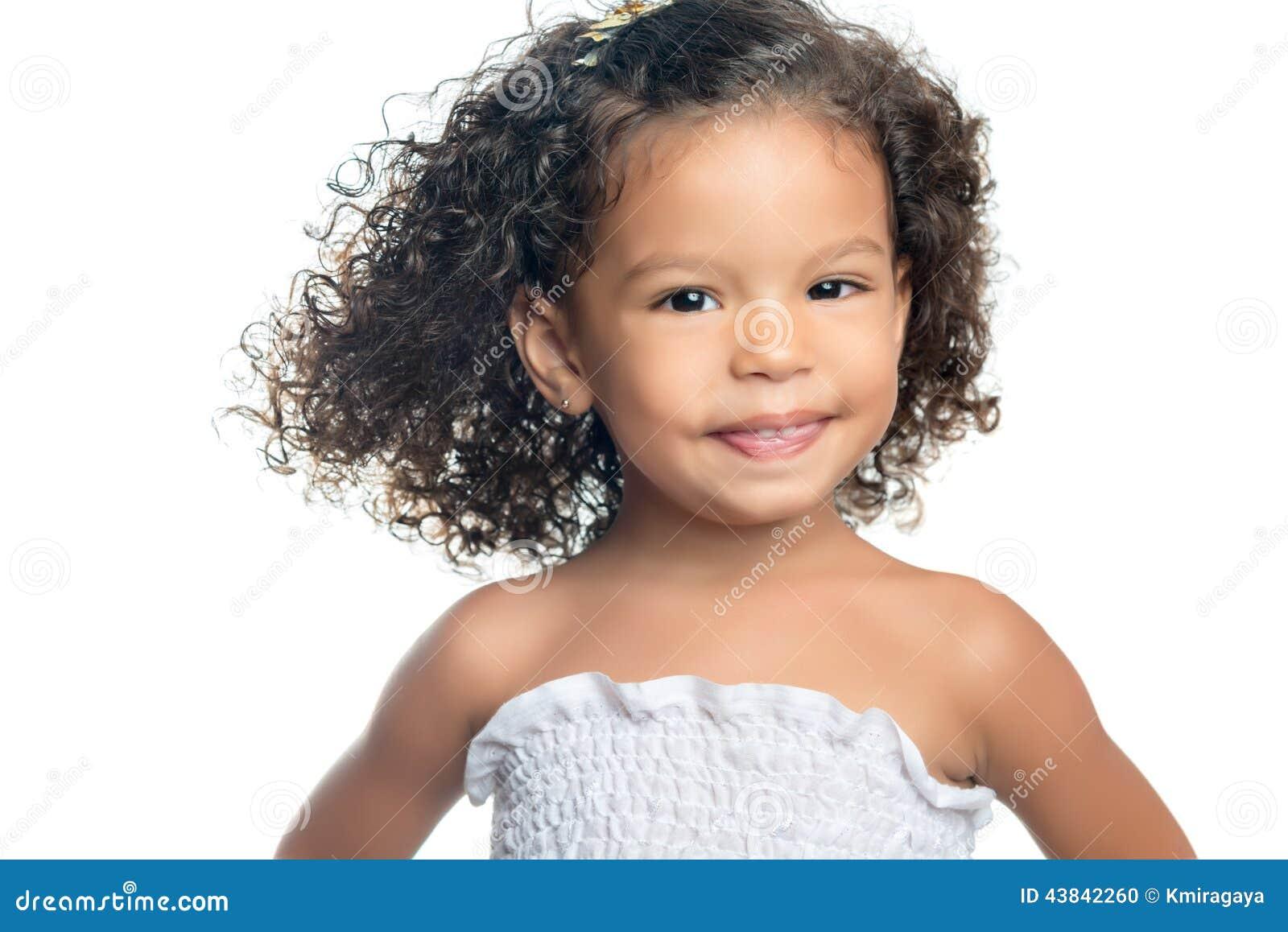 Acconciature capelli afro bambina