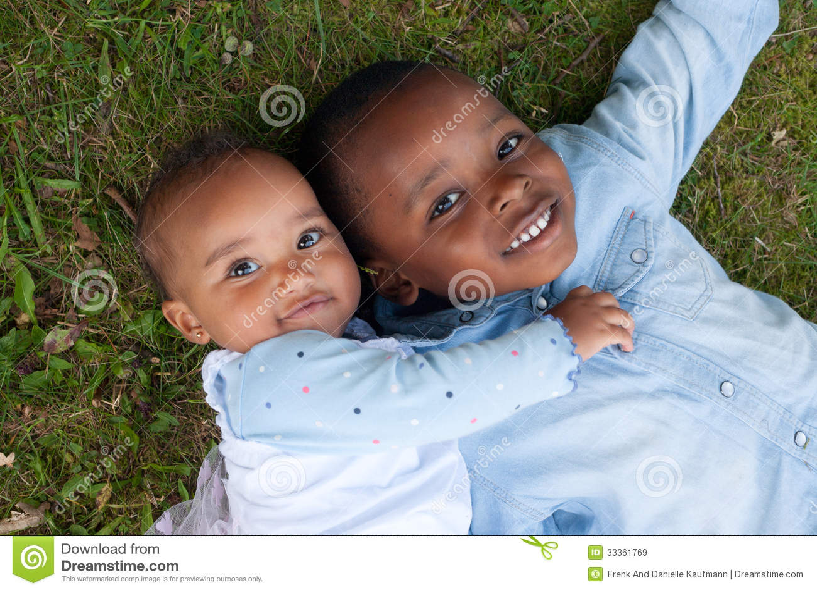 abbastanza Bambini Africani Sorridenti Immagine Stock - Immagine: 33361769 DF64