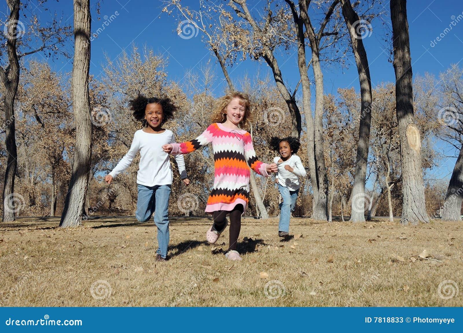 Bambini all aperto