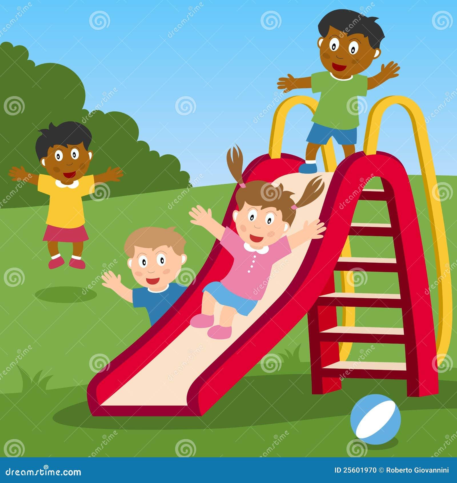 Fotografia stock: bambini che giocano sulla trasparenza