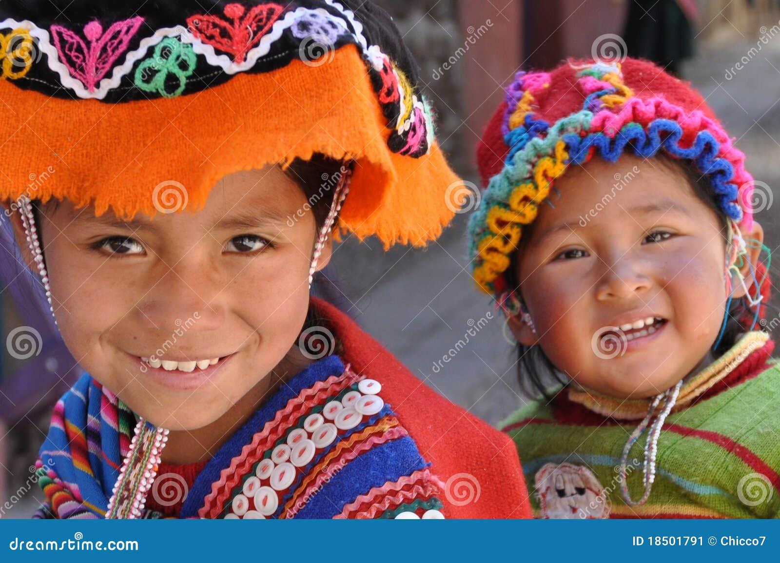 Bambini dal Perù