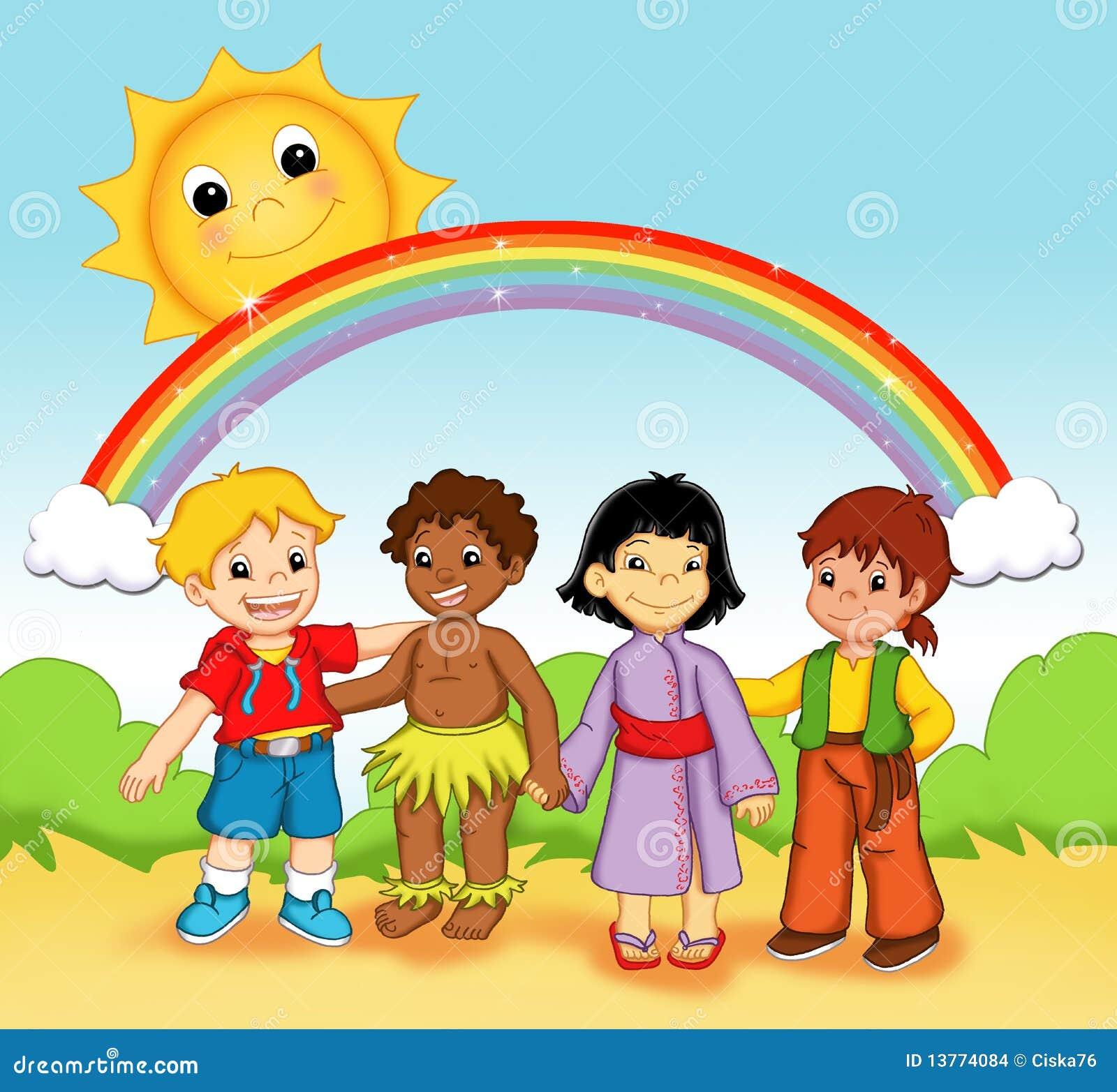 Bambini del mondo immagini stock immagine 13774084 for Immagini del mondo per bambini