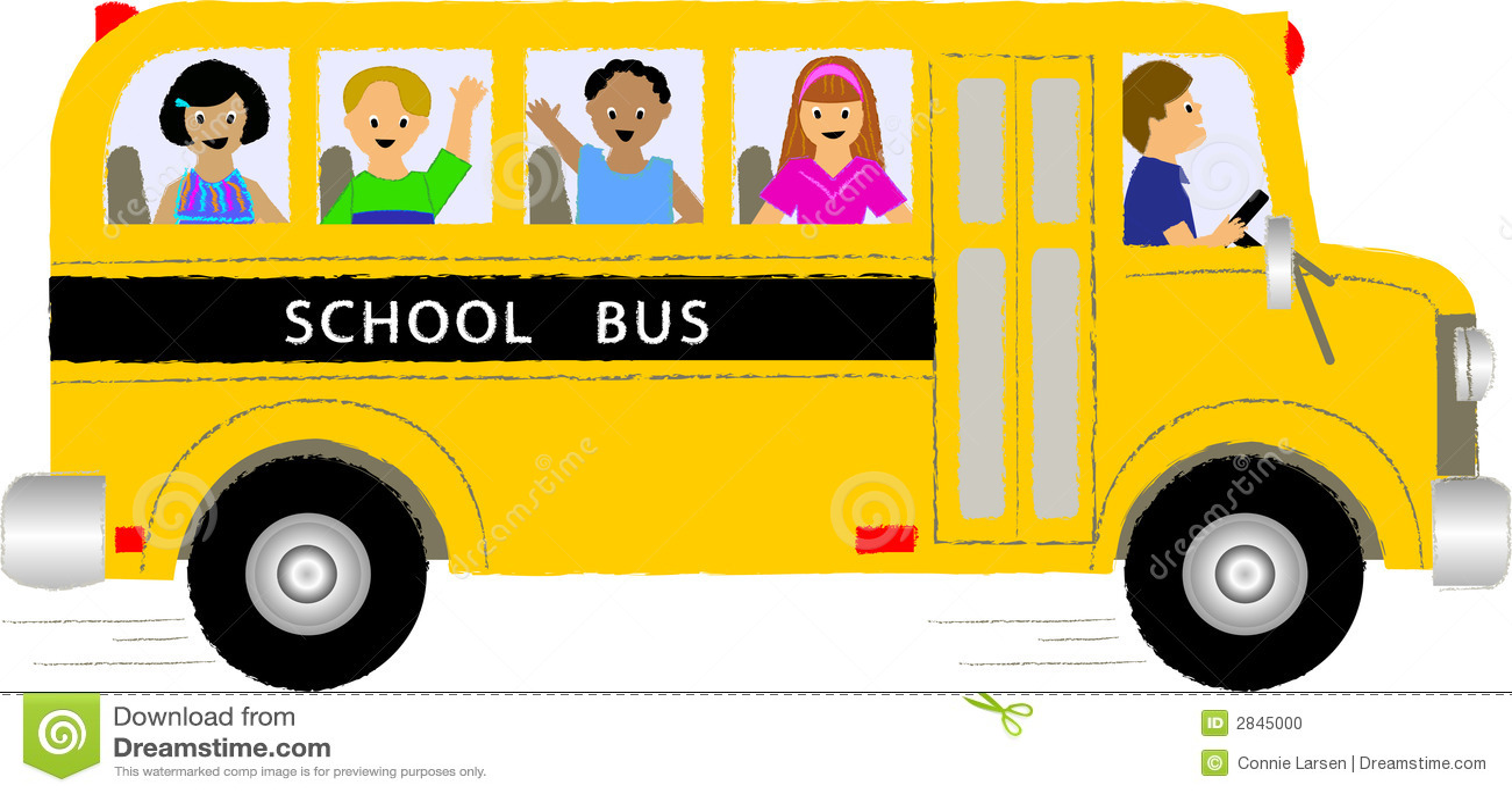 Bambini dello scuolabus