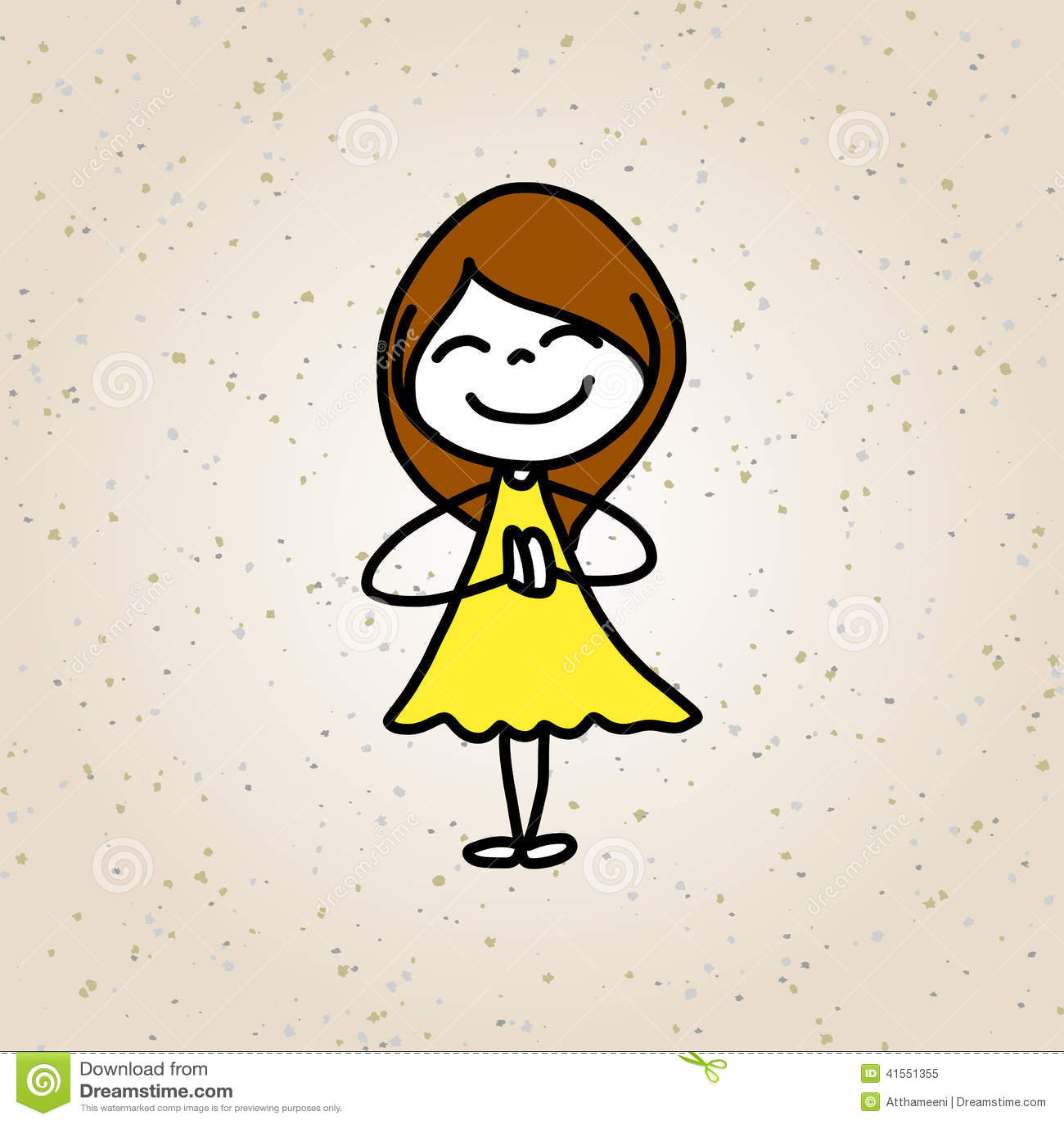 Bambini Felici Del Personaggio Dei Cartoni Animati Del Disegno Della