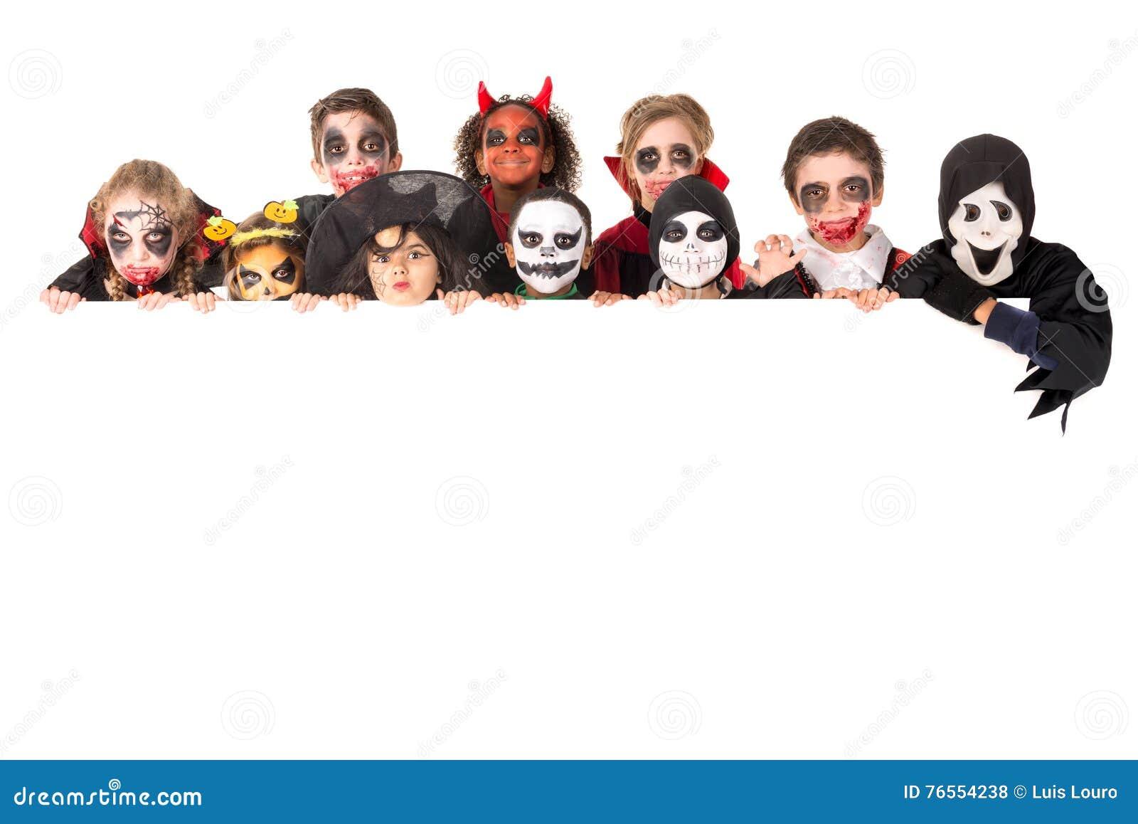 Bambini in Halloween