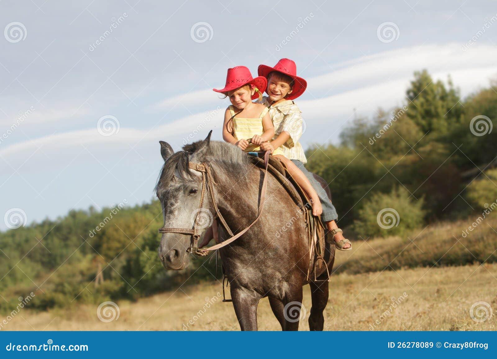 cowboy horse riding
