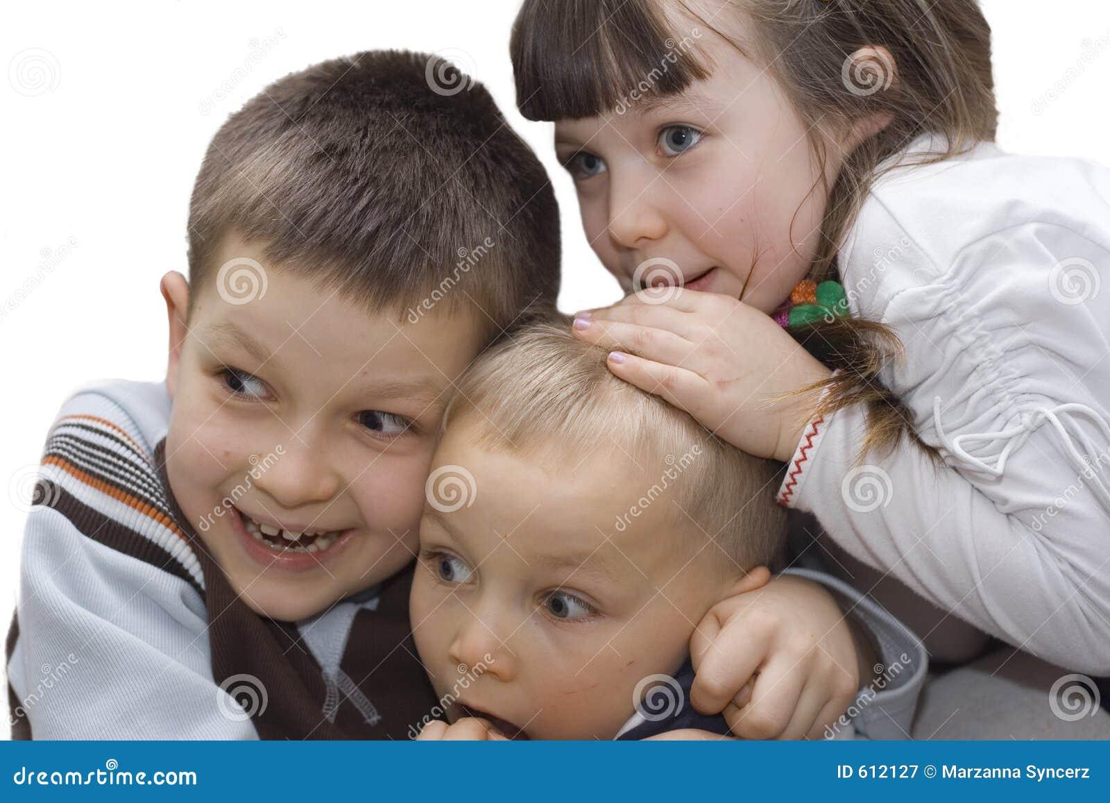 Bambini spaventati