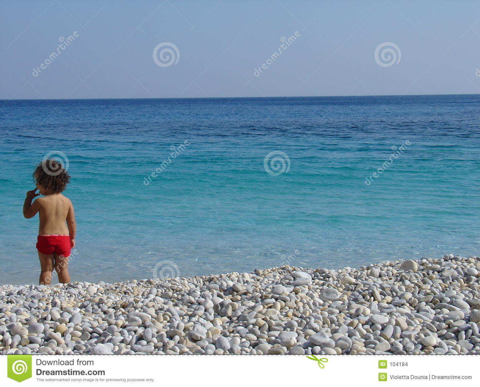 Bambini sulla spiaggia