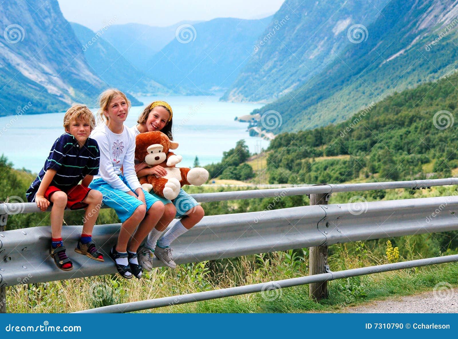 Bambini in vacanza in Norvegia