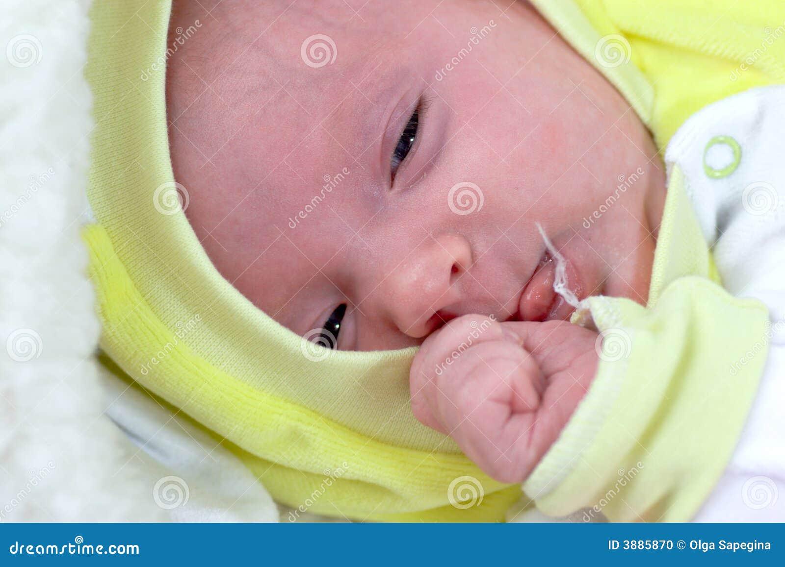 Bambino appena nato