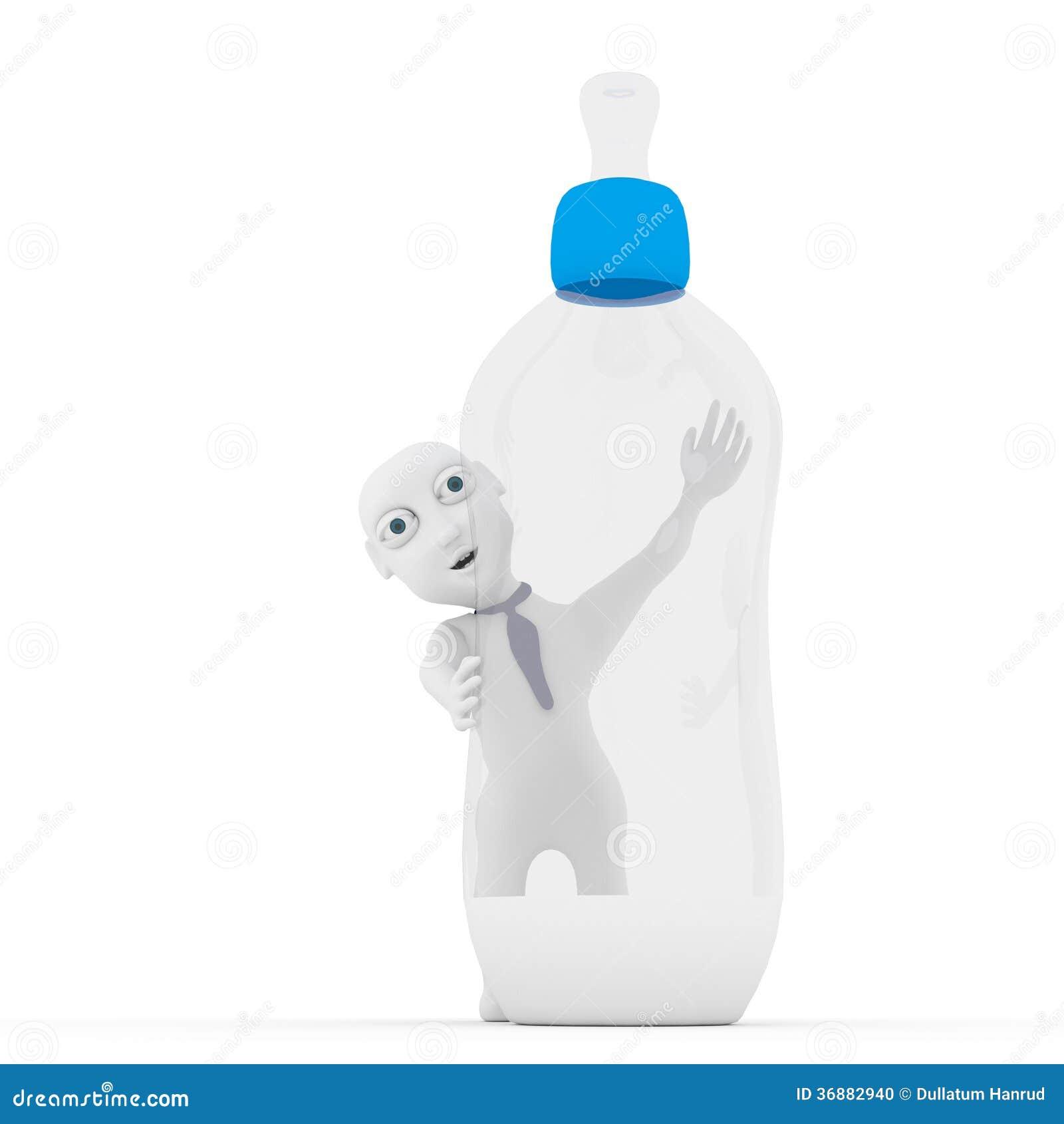 Download Bambino 3d. illustrazione di stock. Illustrazione di divertente - 36882940