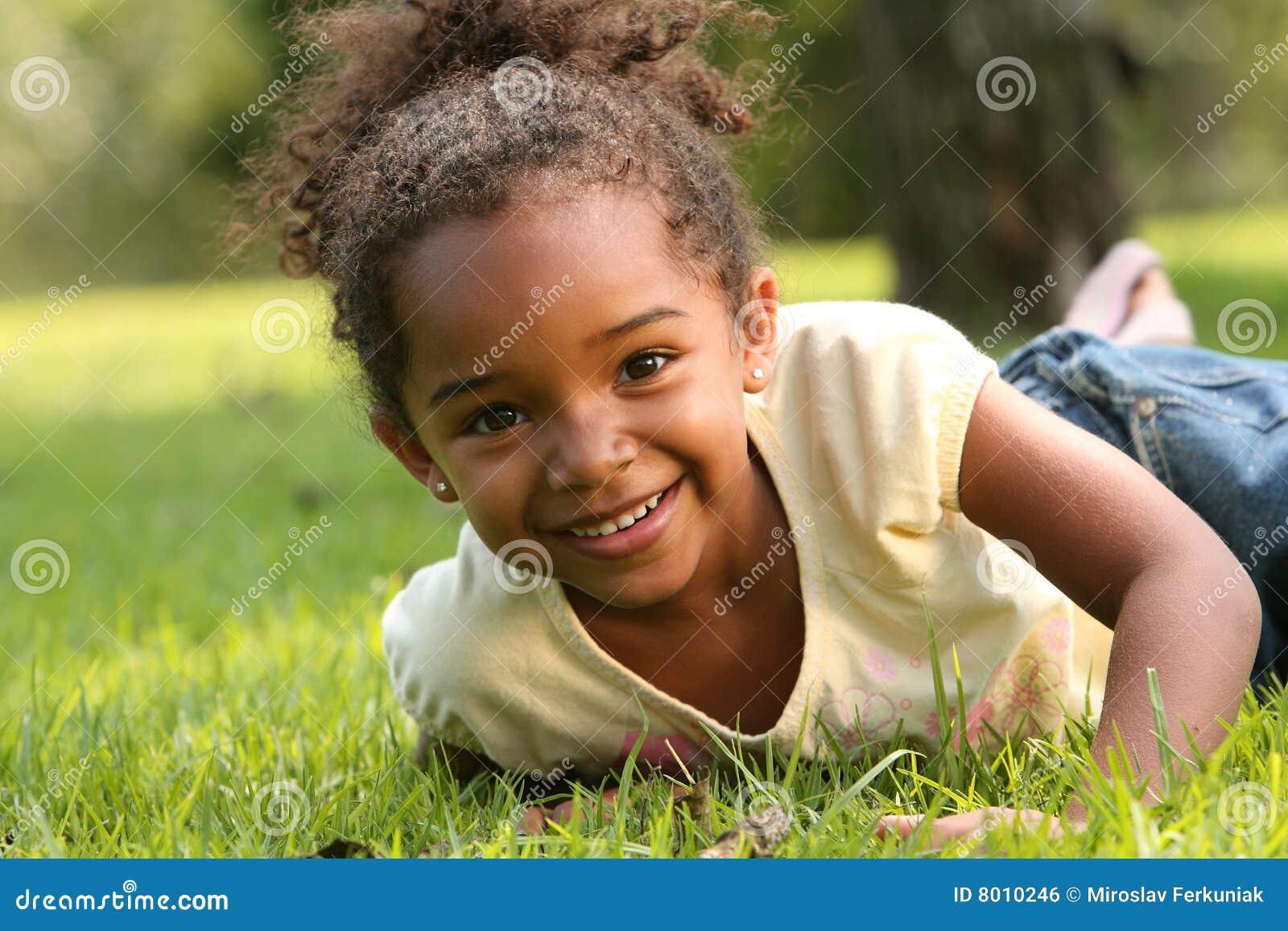 Bambino dell afroamericano