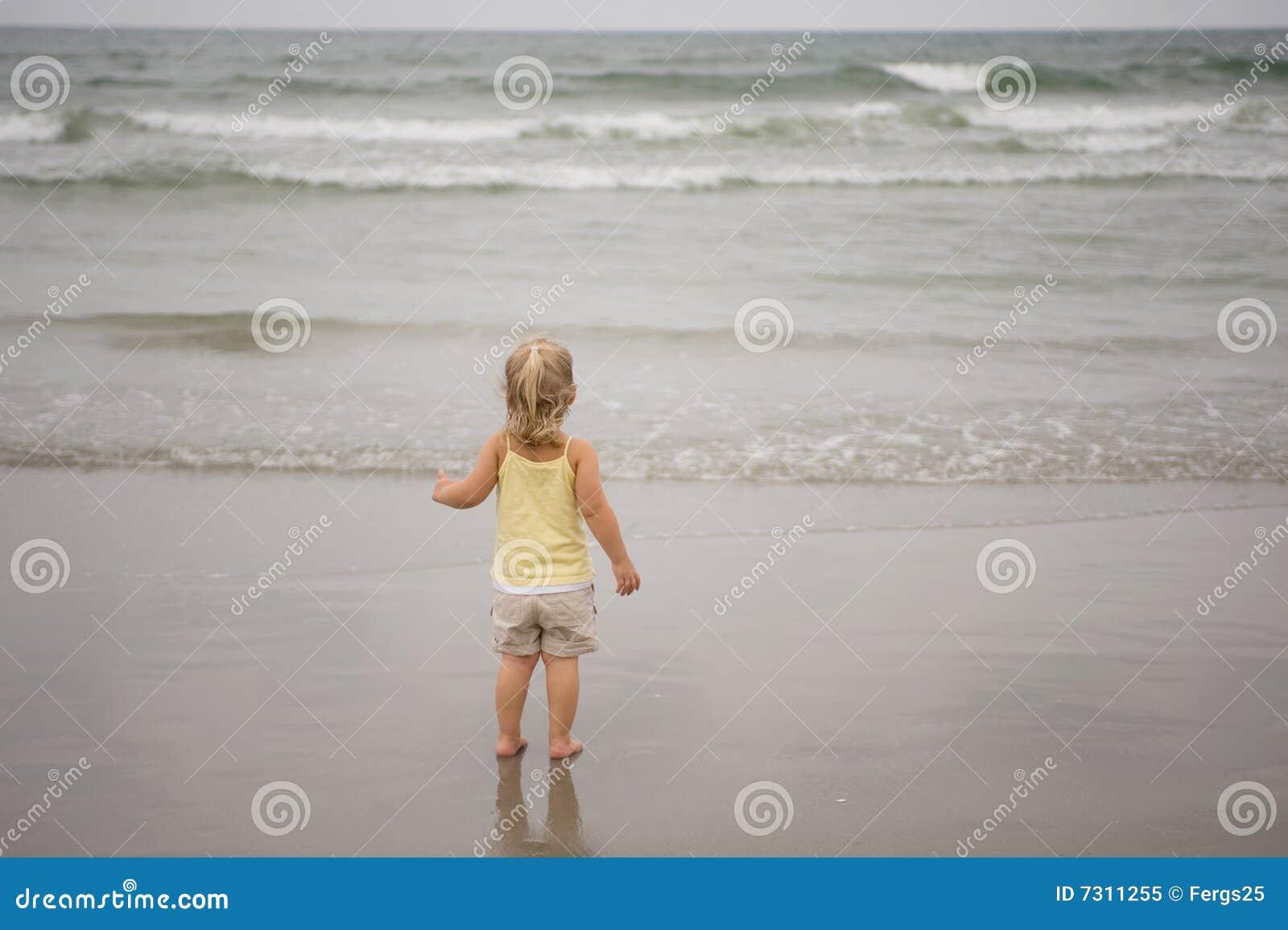 Bambino della spiaggia
