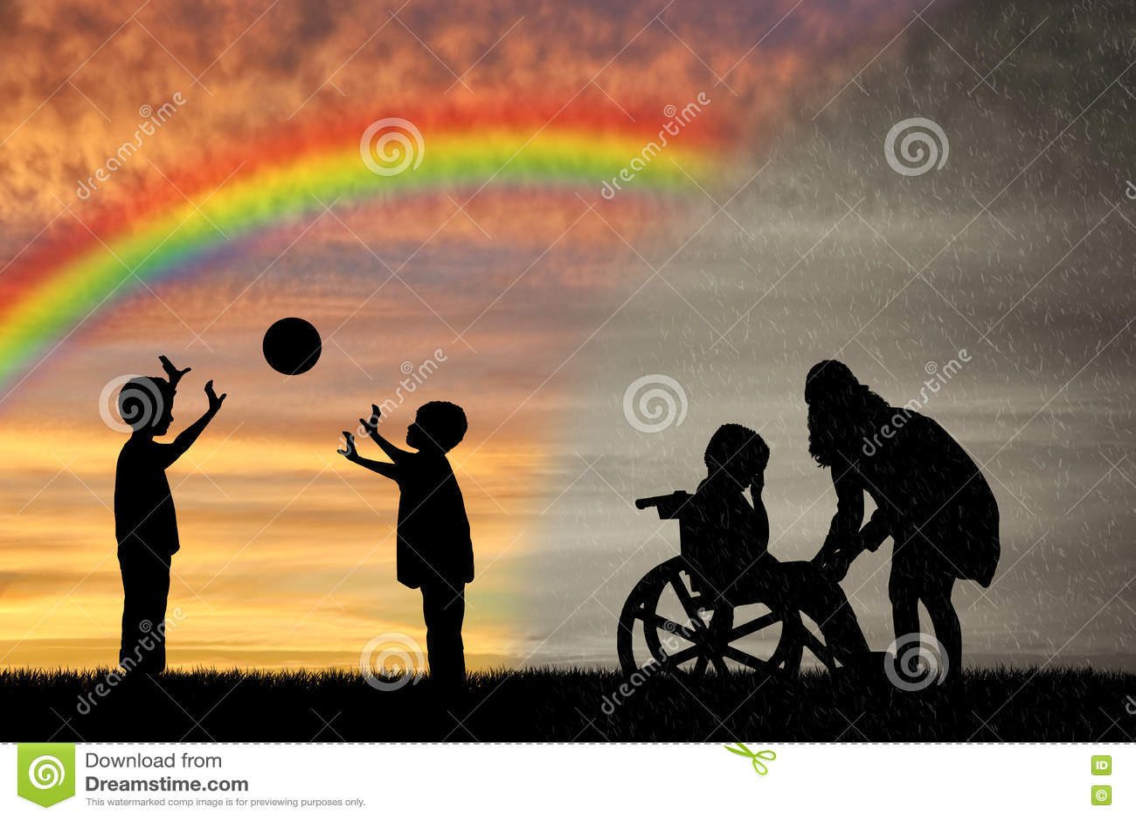 Gridare Nel Disabile Della Madre Suo Rotelle A Ed Bambino Sedia WEHI9eYD2