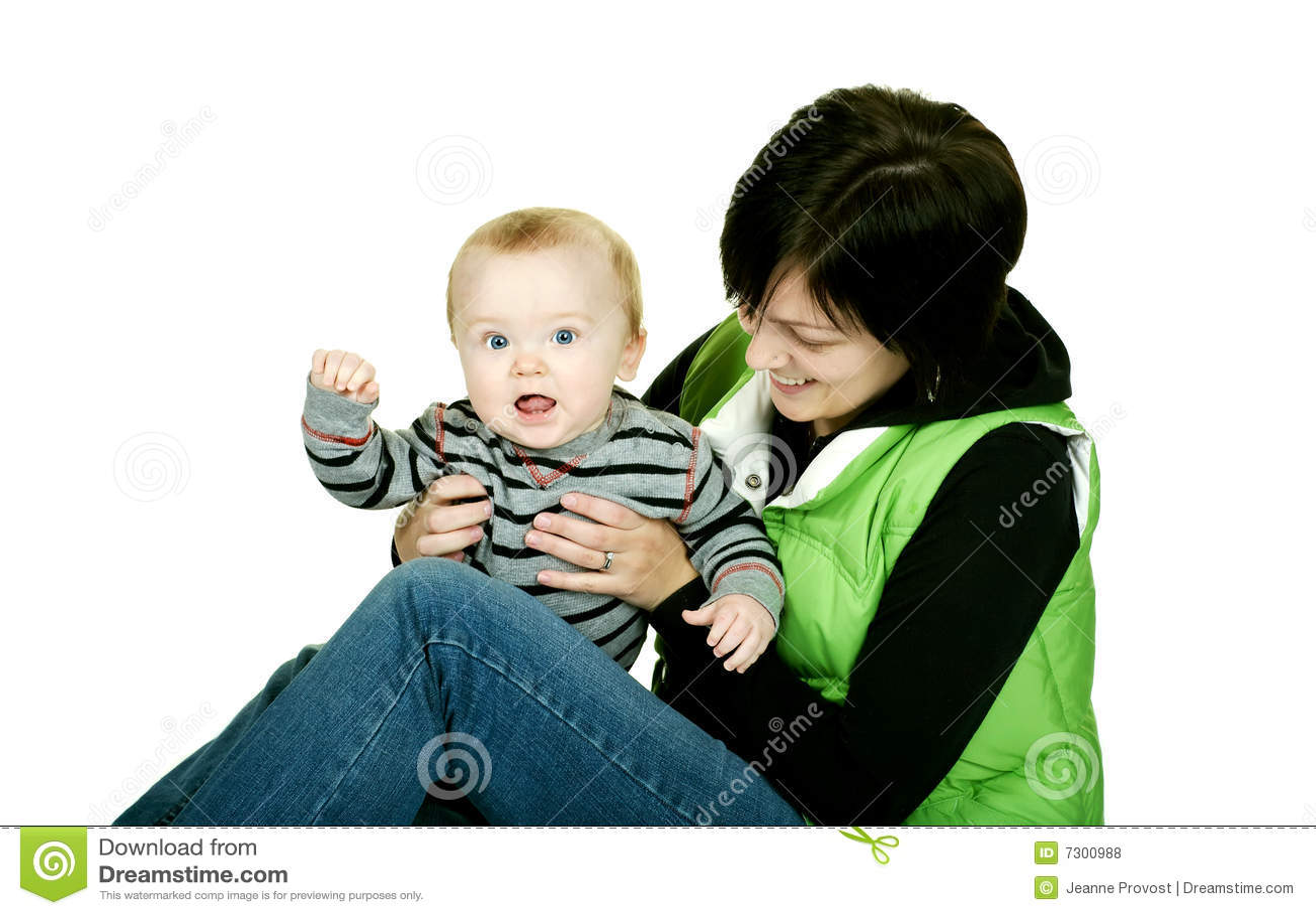 Bambino e Mama svegli