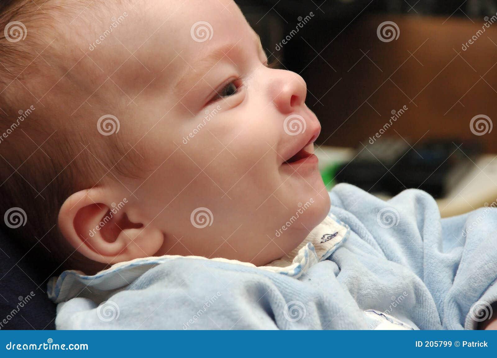 Bambino sorridente.