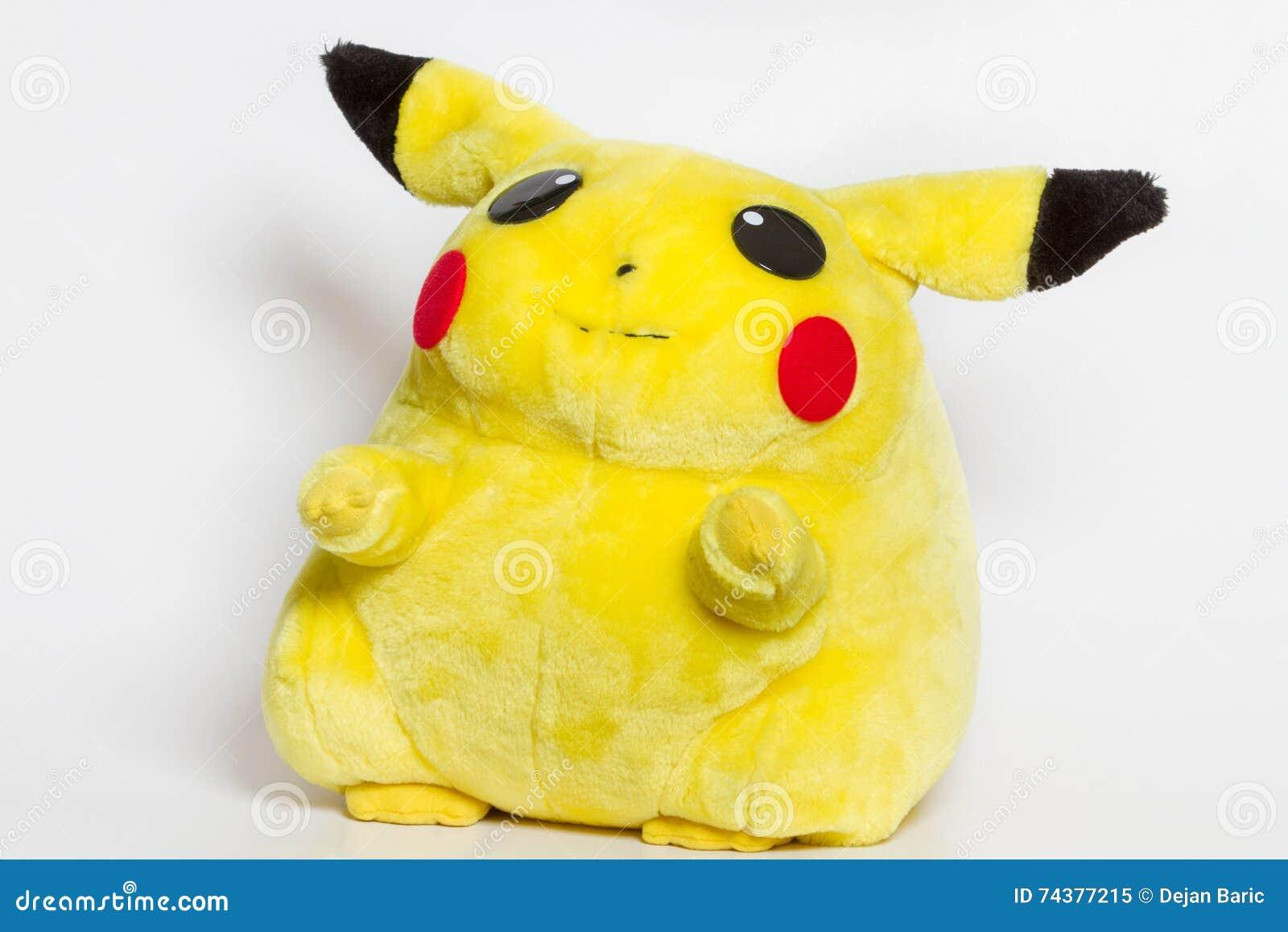 Bambola Pikachu Della Peluche Del Centro Di Pokémon Immagine