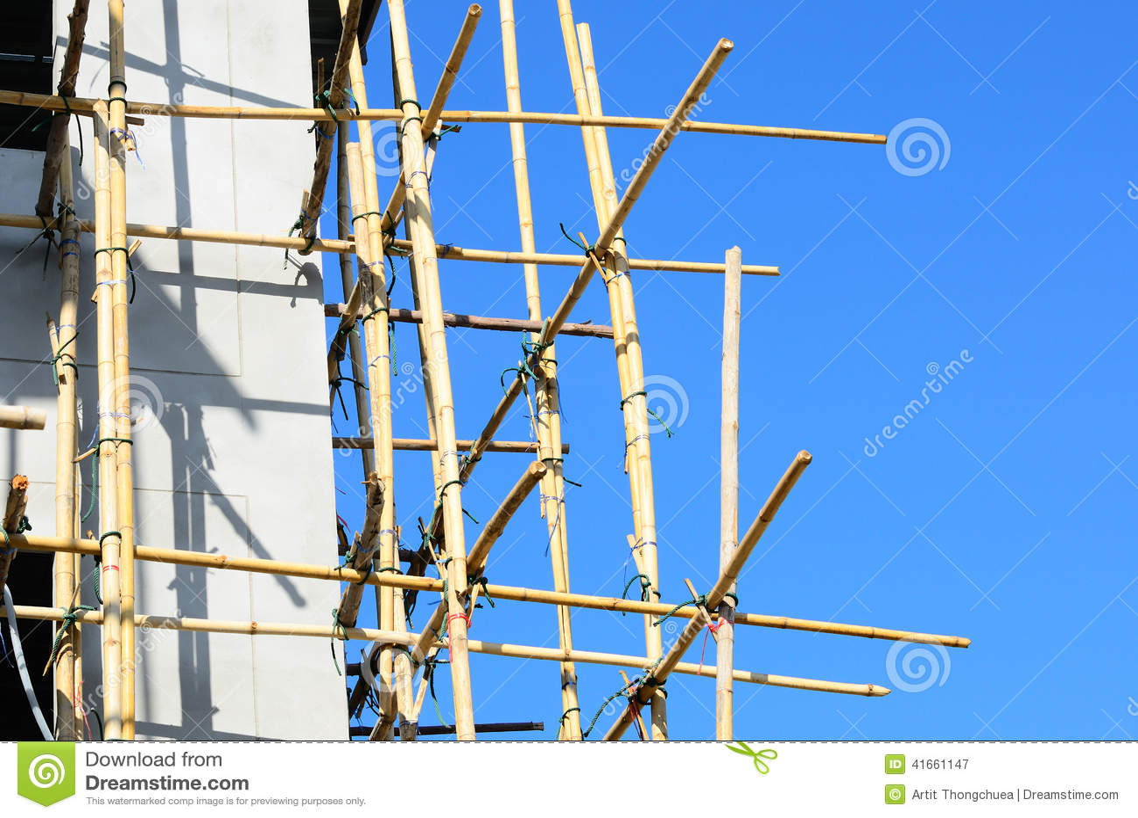 Bamboo место лесов конструкции
