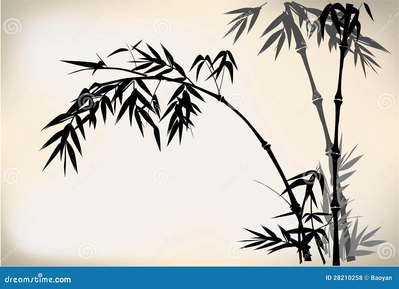 Как нарисовать бамбук своими руками