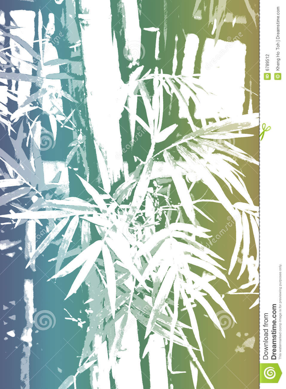 bamboo asian abstract background wallpaper stock illustration