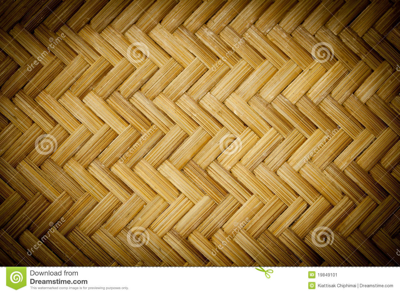 Bamboo Basket Making In Thailand Stock Image Image 19849101