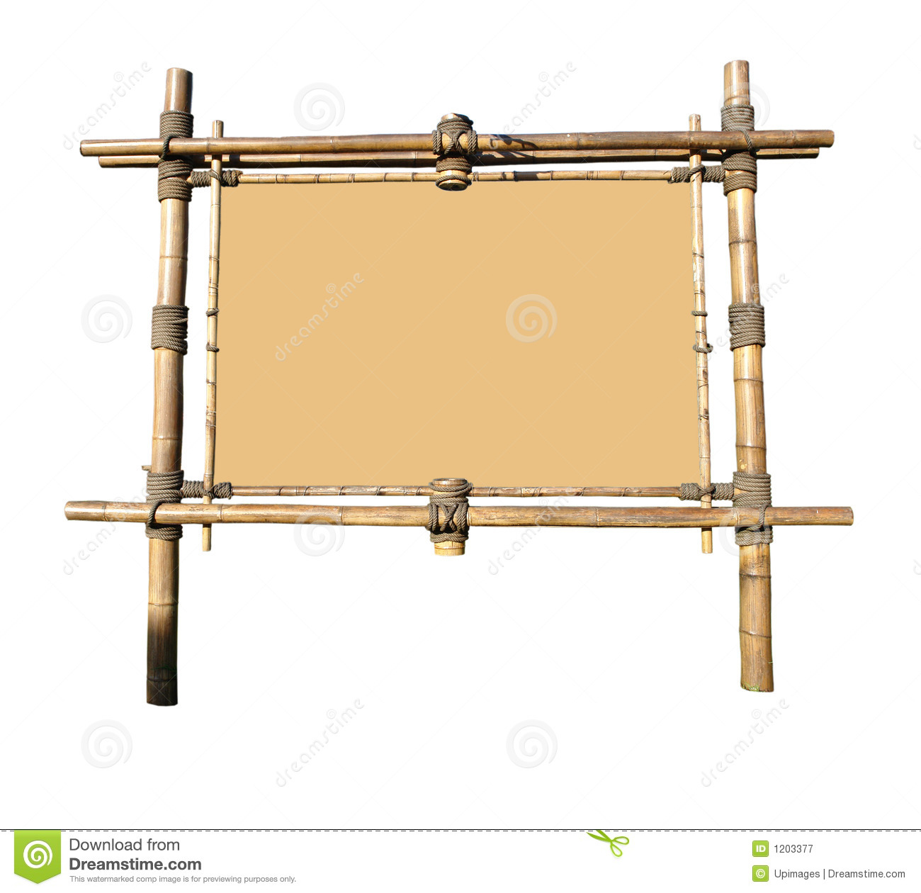 Bamboo Billboard (with clipping path)