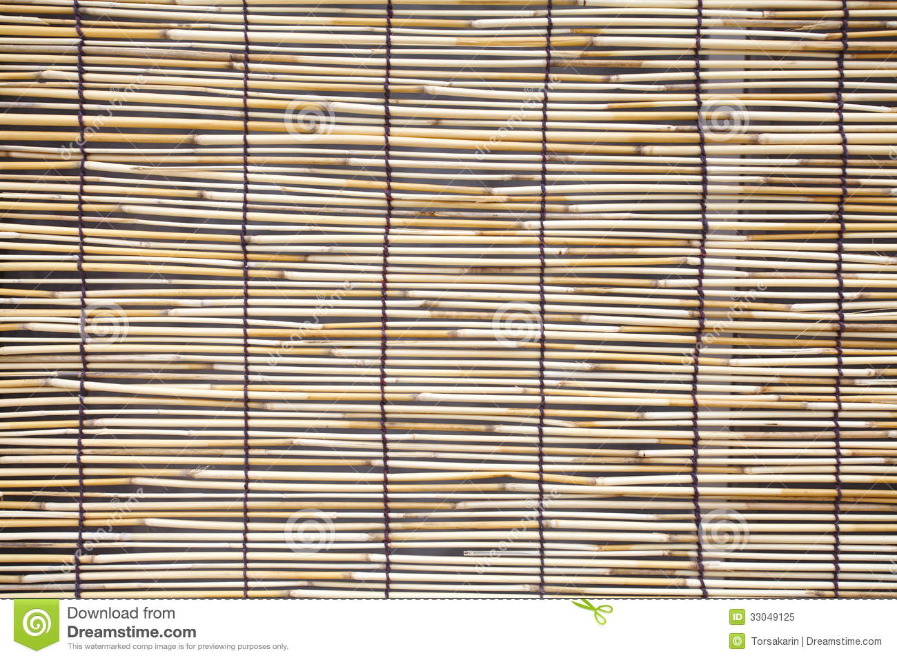 Bamboo Blind Pattern Royalty Free Stock Photo Image