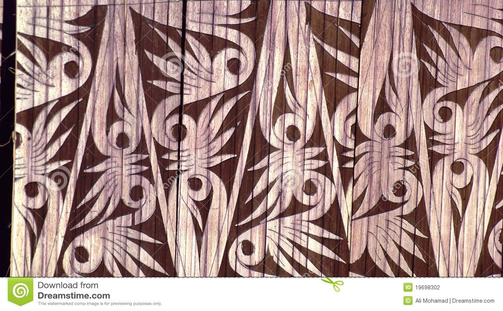 Bamboo Curvings Stock Photo Image Of Handicrafts Ethnic 19698302
