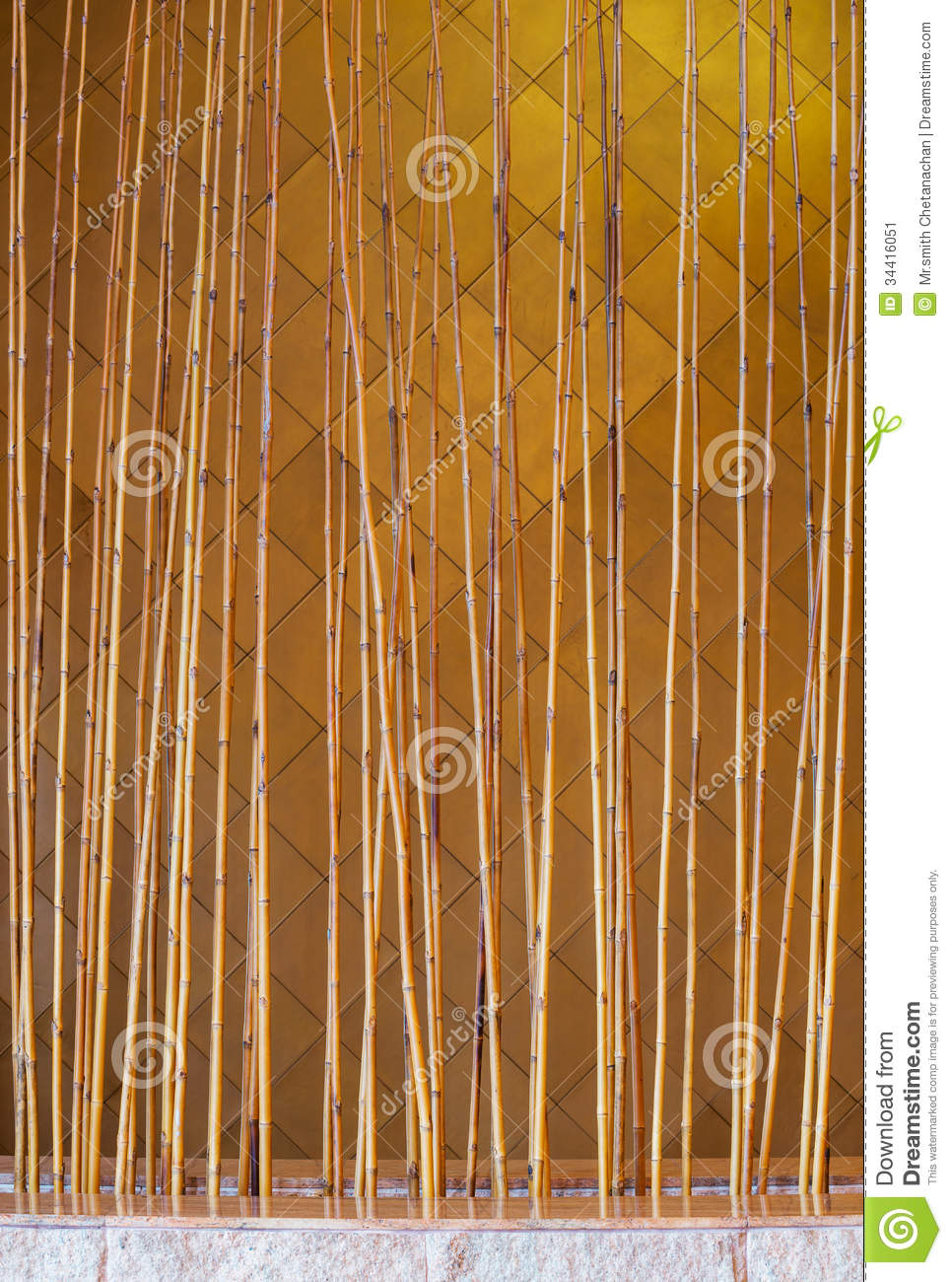 Bamboo fence stock image image 34416051 for Babou decoration