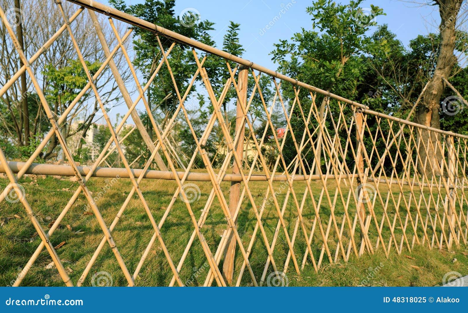 Charmant Bamboo Garden Fence
