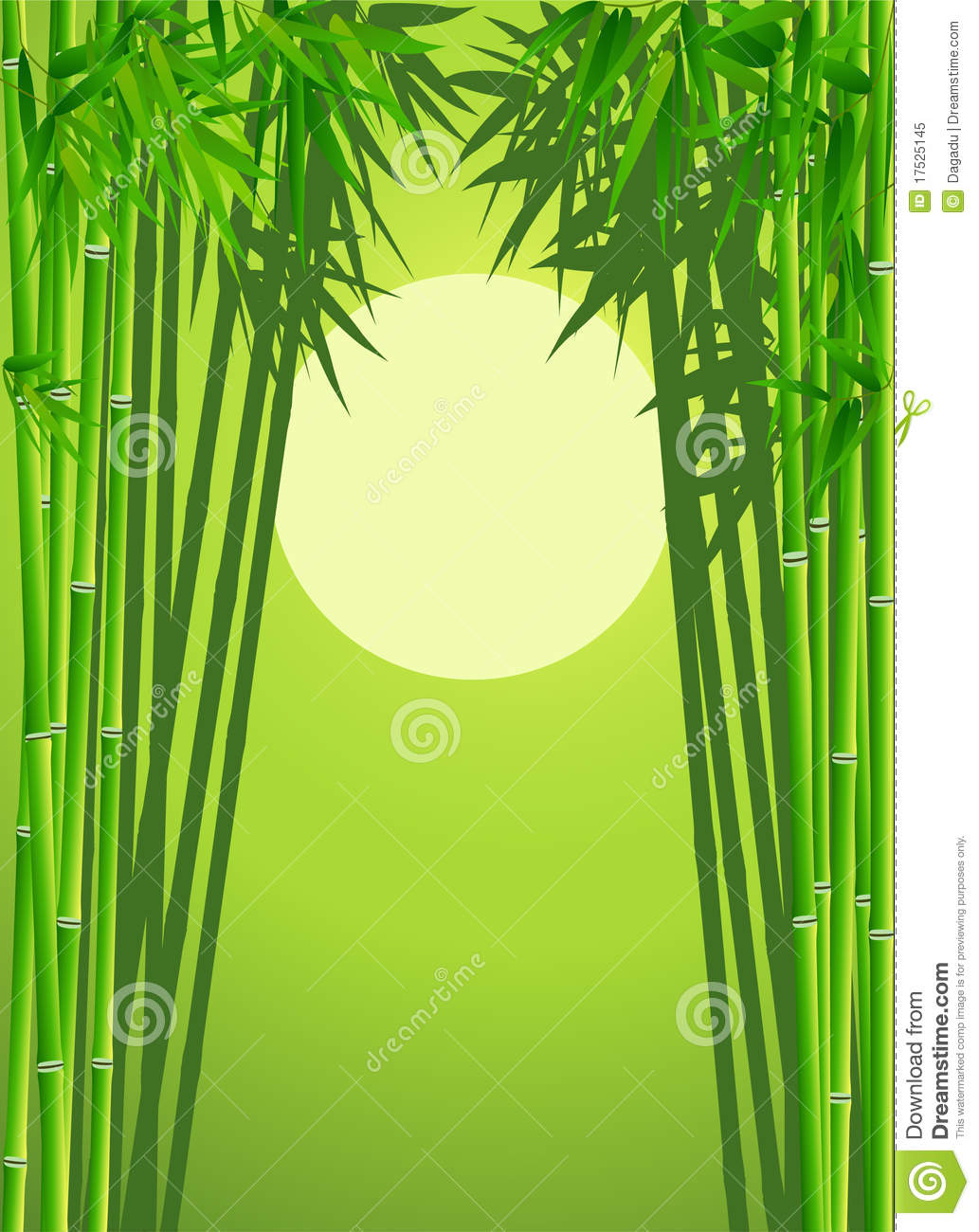 Bamboo Forest Stock Vector Illustration Of China Culture